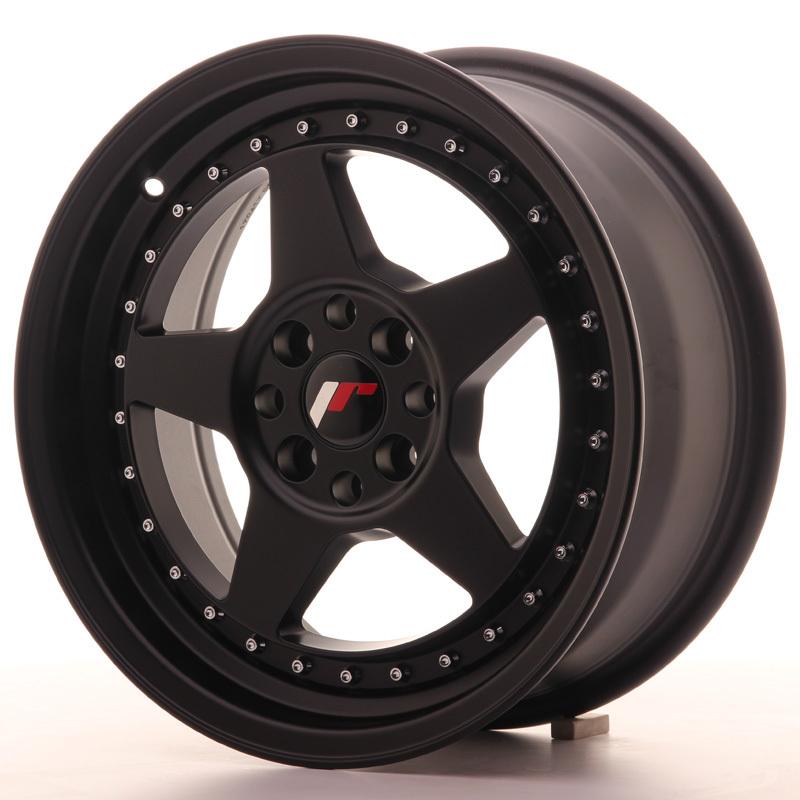japan racing vanteet jr6 16x7 et25 4x100 108 matt black. Black Bedroom Furniture Sets. Home Design Ideas