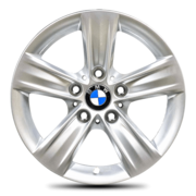 BMW OEM Winter Wheel (with BMW logo) 16x7.5 ET37 5x120