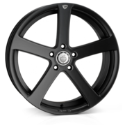 Cades Apollo Matt Black Crest 19x8.5 5x112 ET40