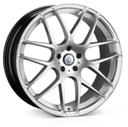 Cades Bern High Power Silver Accent 20x8.5 5x112 ET35
