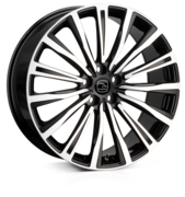 Hawke Chayton Black Polished 20x8.5 5x120 ET42
