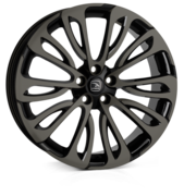 Hawke Halcyon Black Shadow 22x9.5 5x120 ET40