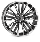 Hawke Harrier Gunmetal Polish *ts 20x8.5 5x108 ET45