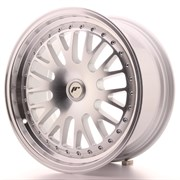 Japan Racing JR10 17x8 ET35 Blank Machined Silv
