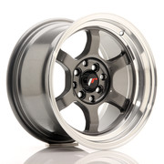 JR Wheels JR12 15x8,5 ET13 4x100/114 Gun Metal w/Machined Lip