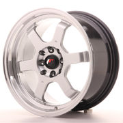JR Wheels JR12 16x8 ET22 4x100/108 Hyper Silver w/Machined Lip