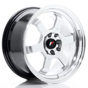 JR Wheels JR12 16x8 ET33 4x100/108 Hyper Silver w/Machined Lip