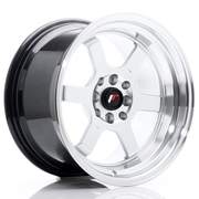 JR Wheels JR12 16x9 ET10 4x100/114 Hyper Silver w/Machined Lip