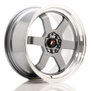 JR Wheels JR12 17x8 ET33 5x100/114 Gun Metal w/Machined Lip