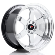 JR Wheels JR12 17x9 ET25 5x112/120 Hyper Silver w/Machined Lip