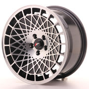 Japan Racing JR14 16x8 ET15 4x100 Black Machined