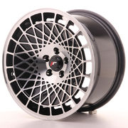 Japan Racing JR14 16x9 ET10 4x100 Black Machined