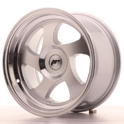 Japan Racing JR15 15x8 ET20 Blank Machined Silver