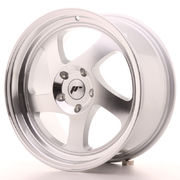 Japan Racing JR15 17x8 ET35 Blank Silver Machined