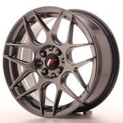 JR Wheels JR18 16x7 ET25 4x100/108 Hyper Black