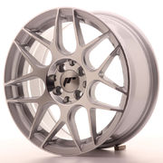 JR Wheels JR18 16x7 ET25 4x100/108 Silver Machined Face