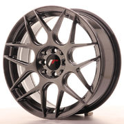 JR Wheels JR18 17x7 ET40 4x100/114 Hyper Black