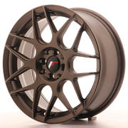 JR Wheels JR18 17x7 ET40 4x100/114 Matt Bronze