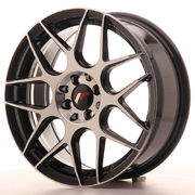 Japan Racing JR18 17x7 ET40 5x100/114 GlossBlkMach