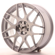 Japan Racing JR18 17x7 ET40 5x100/114 Silver Mach