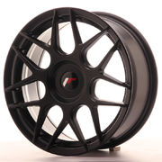 Japan Racing JR18 17x7 ET20-40 Blank Matt Black