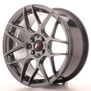 Japan Racing JR18 17x8 ET25 4x100/108 Hiper Black