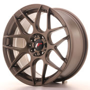Japan Racing JR18 17x8 ET25 4x100/108 Matt Bronze