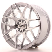 Japan Racing JR18 17x8 ET25 4x100/108 Silver Mach