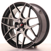 Japan Racing JR18 18x7,5 ET35-40 Blank 5H Black Ma