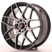 Japan Racing JR18 18x7,5 ET40 5x112/114 Black Mach