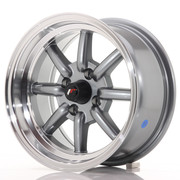 Japan Racing JR19 14x7 ET0 4x100 Gun Metal