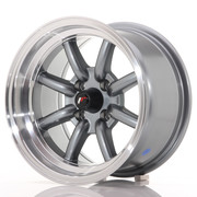 Japan Racing JR19 14x8 ET-13 4x100 Gun Metal