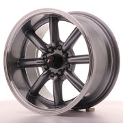 Japan Racing JR19 15x8 ET0 4x100/114 Gun Metal