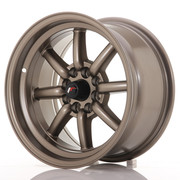 Japan Racing JR19 15x8 ET0 4x100/114 Matt Bronze