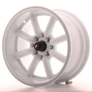 Japan Racing JR19 15x8 ET0 4x100/114 White