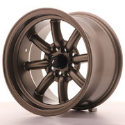 Japan Racing JR19 15x9 ET-13 4x100/114 Matt Bronze
