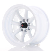 Japan Racing JR19 15x9 ET-13 4x100/114 White