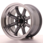 Japan Racing JR19 15x9 ET-13 4x100/108 Gun Metal