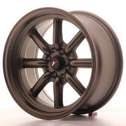 Japan Racing JR19 16x8 ET0 4x100/114 Matt Bronze
