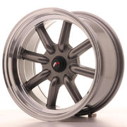 Japan Racing JR19 16x8 ET-20-0 BLANK Gun Metal
