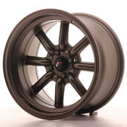 Japan Racing JR19 16x9 ET-15 4x100/114 Matt Bronze