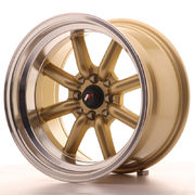 Japan Racing JR19 16x9 ET-15 4x100/114 Gold