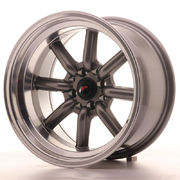 Japan Racing JR19 16x9 ET-15 4x100/114 Gun Metal