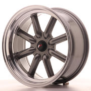 Japan Racing JR19 17x8 ET0 BLANK Gun Metal