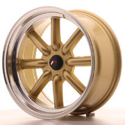 Japan Racing JR19 17x8 ET-20-0 BLANK Gold