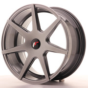 Japan Racing JR20 18x8,5 ET25-40 Blank Hyper Black