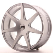 Japan Racing JR20 19x8,5 ET20-40 Blank Silver Mac