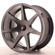Japan Racing JR20 19x9,5 ET20-40 Blank Hyper Black