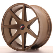 Japan Racing JR20 20x10 ET20-40 5H Blank Matt Bro