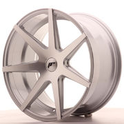 Japan Racing JR20 20x10 ET40 5H Blank Silver Mach